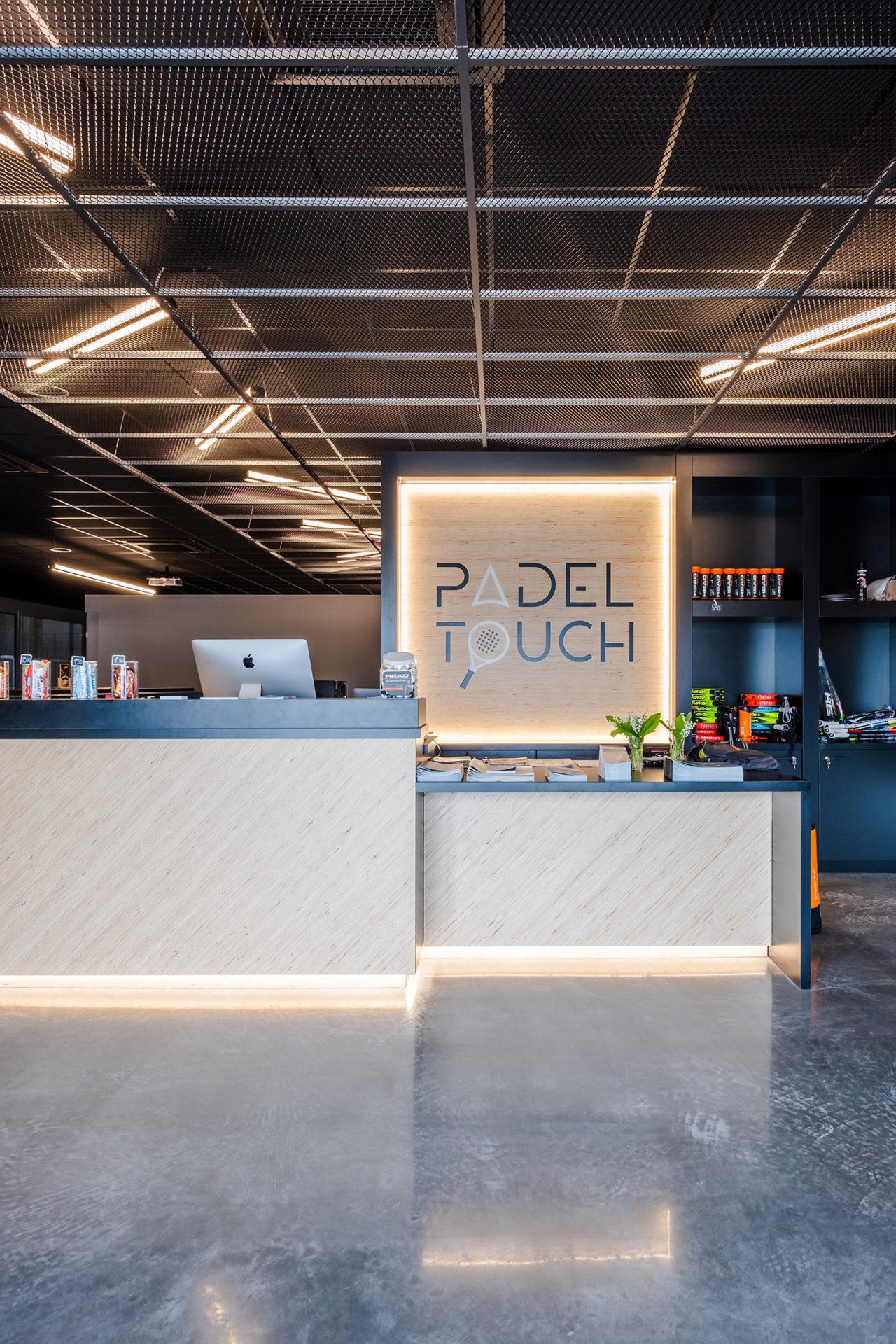 Architecte Interieur Bordeaux padel touch - atelier yuj